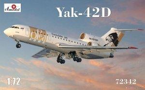 A-Model 72342 Yak-42D 1/72