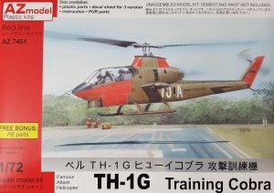 AZmodel AZ7451 TH-1G Huey Cobra Training 1/72