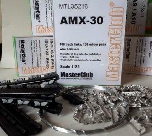 MasterClub MTL-35216 Tracks For AMX 30/Auf 1 SPG. 1/35