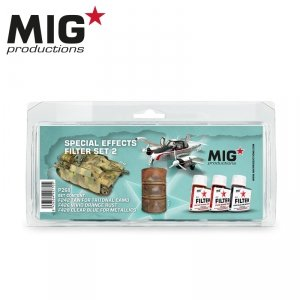 MIG Productions P268 SPECIAL EFFECTS SET 2 (3x35ml)