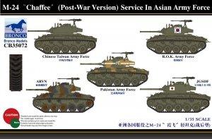 Bronco CB35072 Bronco M-24 Chaffee (Post-War Version) Serv. In Asia Army (1:35)