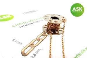 ASK T0235 Chain: Medium - 50 cm long (brass)