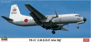 Hasegawa 10806 YS-11 J.M.S.D.F. 61ST SQ 1/144