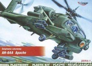Mirage Hobby 72051 AH-64 A Apache (1:72)