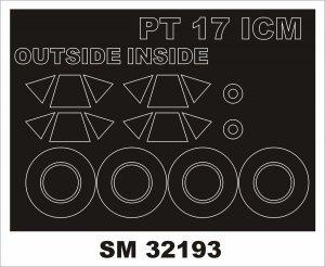 Montex SM32193 Stearman PT-17/N2S-3 Kaydet 1/32
