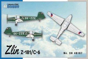 Special Hobby 48187 Zlin Z-181 / C-6 (1:48)