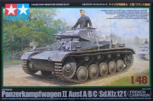 Tamiya 32570 German Panzer II A/B/C - French Campaign (1:48)