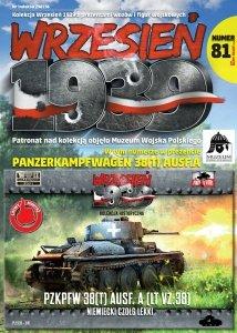 First To Fight PL081 - PzKpfw 38(t) Ausf. A (LT VZ .38) Niemiecki Czołg Lekki 1/72