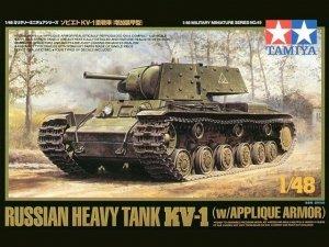 Tamiya 32545 KV-1B w/Applique Armor (1:48)