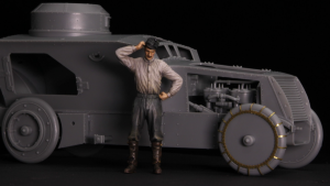 Copper State Models F35-016 Austro-Hungarian Armoured Car Mechanic 1/35