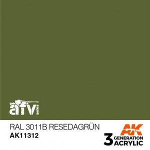 AK-Interactive AK 11312 RAL 6011B RESEDAGRÜN 17ml