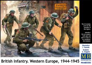 Master Box 3585 British Infantry. Western Europe, 1944-1945 1/35