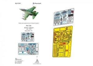 Microdesign MD 072007 Yak-130 detail set (colour) Zvezda 1/72