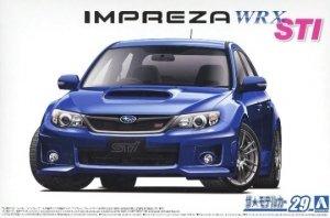 Aoshima 05834 Subaru GRB Impreza WRX STI 1/24