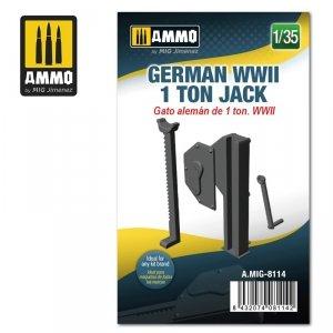 Ammo of Mig 8114 German WWII 1 ton Jack 1/35