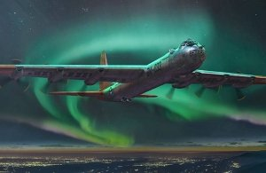 Roden 347 Convair B-36B Peacemaker (Early) 1/144