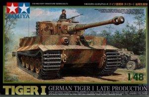 Tamiya 32575 German Tiger I late production (1:48)