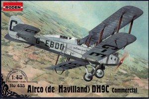 Roden 435 Airco (de Havilland) DH9C Commercial