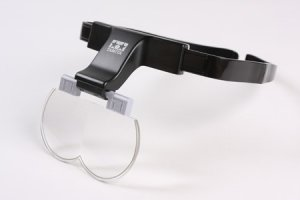 Tamiya 74092 Magnifying Visor With 1.7x/2x/2.5x Lenses