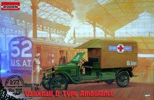 Roden 717 Vauxhall D Type Ambulance (1:72)