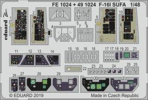 Eduard FE1024 F-16I SUFA 1/48 HASEGAWA