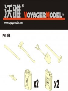 Voyager Model PEA096 OVM and Water/Fuel Can for Stryker (For ALL) 1/35