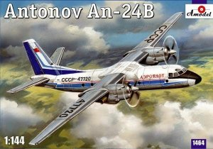 A-Model 01464 Antonov An-24B 1:144