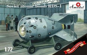 A-Model NA 72001 Soviet atom bomb RDS-1 1/72