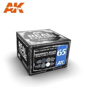 AK Interactive RCS065 MARINEFLIEGER NORM 76 AND 87 SCHEMES SET 4x10ml