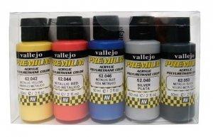 Vallejo 62103 Premium RC-Color METALLIC SET 5x60 ml.