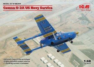 ICM 48291 Cessna O-2A US Navy Service 1/48
