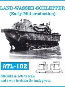 Friulmodel 1:35 ATL-102 LAND - WASSER - SCHLEPPER (Early Mid production)