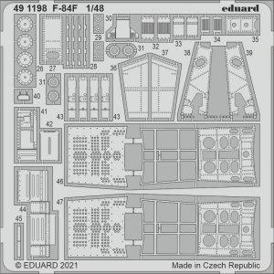 Eduard 491198 F-84F KINETIC 1/48
