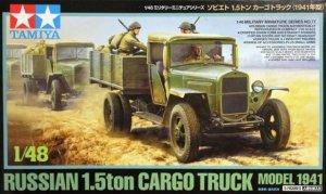 Tamiya 32577 Russian 1.5ton Cargo Truck Model 1941 (1:48)