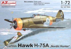AZ Model AZ7655 Curtiss Hawk H-75A Nordic Hunter 1/72