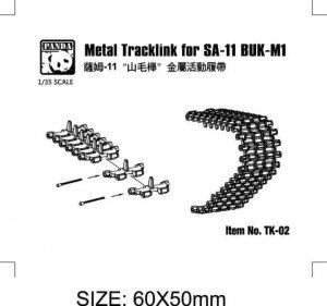 Panda Hobby TK-02 Metal Track Links SA-11 BUK-M1 1/35