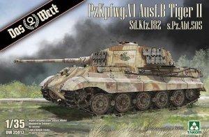 Das Werk DW35013 PzKpfwg. VI Ausf.B Tiger II Sd.Kfz.182 - s.Pz.Abt.505 1/35