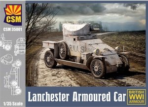 Copper State Models 35001 Lanchester Armoured Car (1:35)