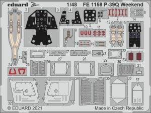 Eduard FE1158 P-39Q Weekend for EDUARD 1/48