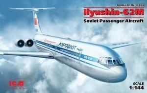 ICM 14405 Ilyushin-62M, Soviet Passenger Aircraft 1/144