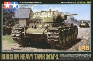 Tamiya 32535 Russian Heavy Tank KV-1 (1:48)
