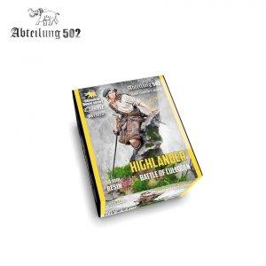 502 Abteilung ABT1022 HIGHLANDER BATTLE OF CULLODEN 54MM RESIN.