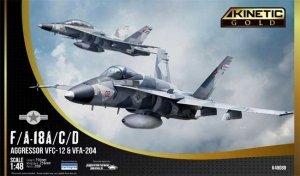 Kinetic K48088 F/A-18A/C/D Aggressor VFC-12 & VFA-204 1/48