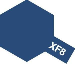 Tamiya XF8 Flat Blue (81708) Acrylic paint 10ml