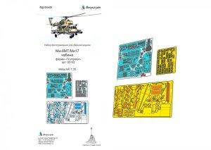 Microdesign MD 035401 Mi-8MT/Mi-17 Cabin detail set Trumpeter  1/35
