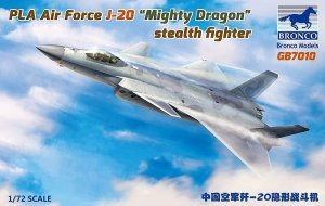 Bronco GB7010 PLA Air Force J-20A Stealthfighter 1/72