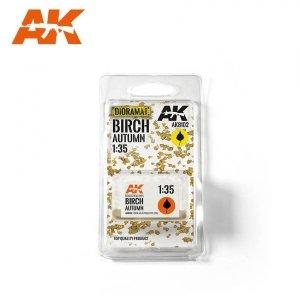AK Interactive AK 8102 BIRCH AUTUMN (TOP QUALITY) 1/35