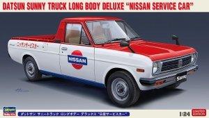 Hasegawa 20482  Datsun Sunny Truck Long Body Deluxe Nissan Service Car 1/24