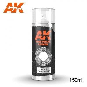 AK Interactive AK 1016 FINE METAL PRIMER SPRAY 150ml