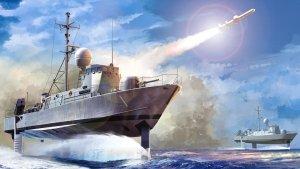 Hobby Boss 82005 USS Pegasus PHM 1 1/200
